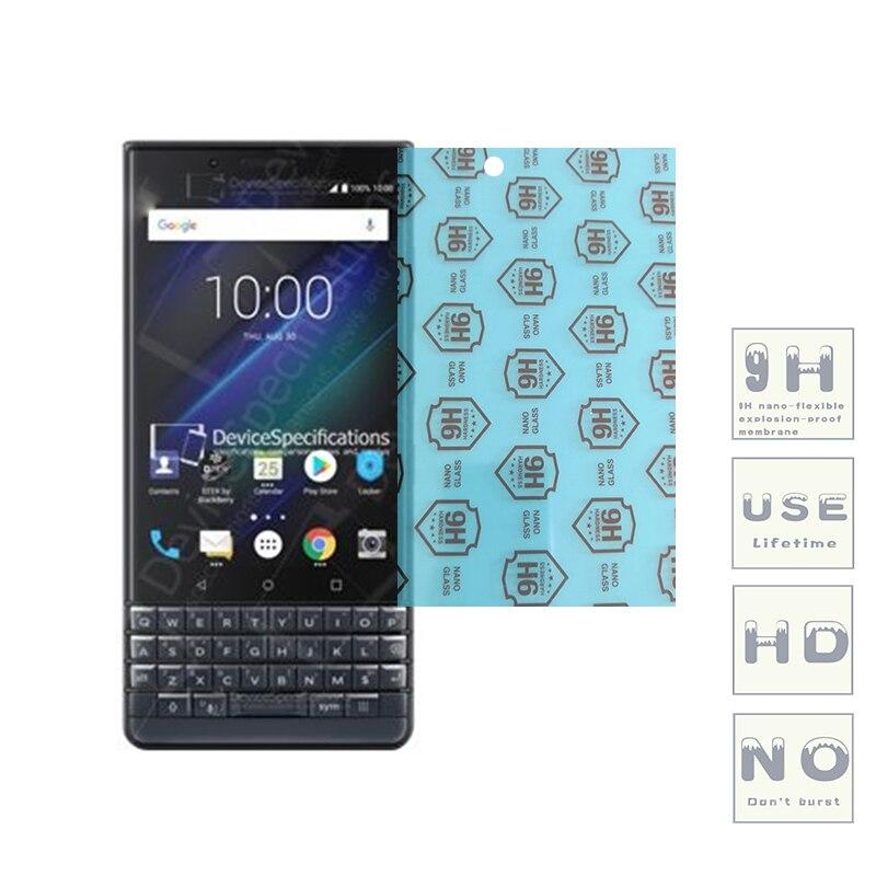 (3-Pack) 9H flexible glass screen protector For BlackBerry ClassicNon/Leap/Priv/KEYone/Aurora/Motion/KEY2/Evolve/EvolveX/Key2 LE(China)