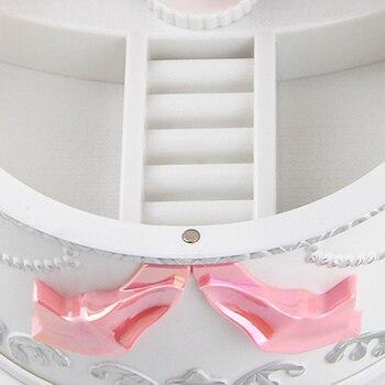 Girls Musical Jewelry Boxes Ballerina Rotating Music Box Gramophone Toys for Children Kids Birthday