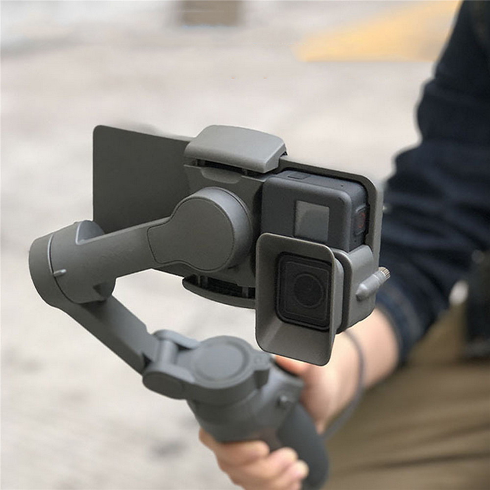 Portable Handheld Adapter Mount Bracket Holder For DJI OSMO Mobile 3 To GoPro 5/6/7 Camera Gimbal Stabilizer Accessories