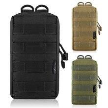 600D тактический EDC Molle сумка открытый жилет поясная сумка охотничий рюкзак аксессуар гаджет снаряжение сумка компактная водостойкая сумка