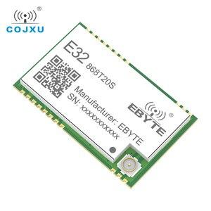 Image 3 - SX1276 868 МГц 100 мВт 20 дБм SMD TTL E32 868T20S ebyte беспроводной трансивер с большим радиусом действия 3 км LoRa IPEX передатчик и приемник
