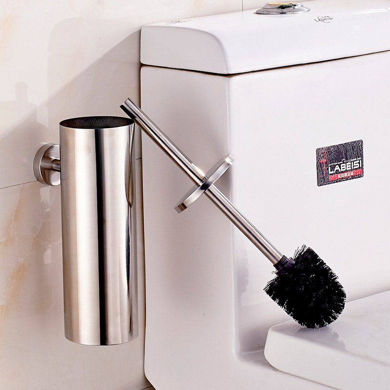 ROVATE Toilet Brush Holders 304 Stainless Steel Bathroom Accessories WC Brush For The Toilet