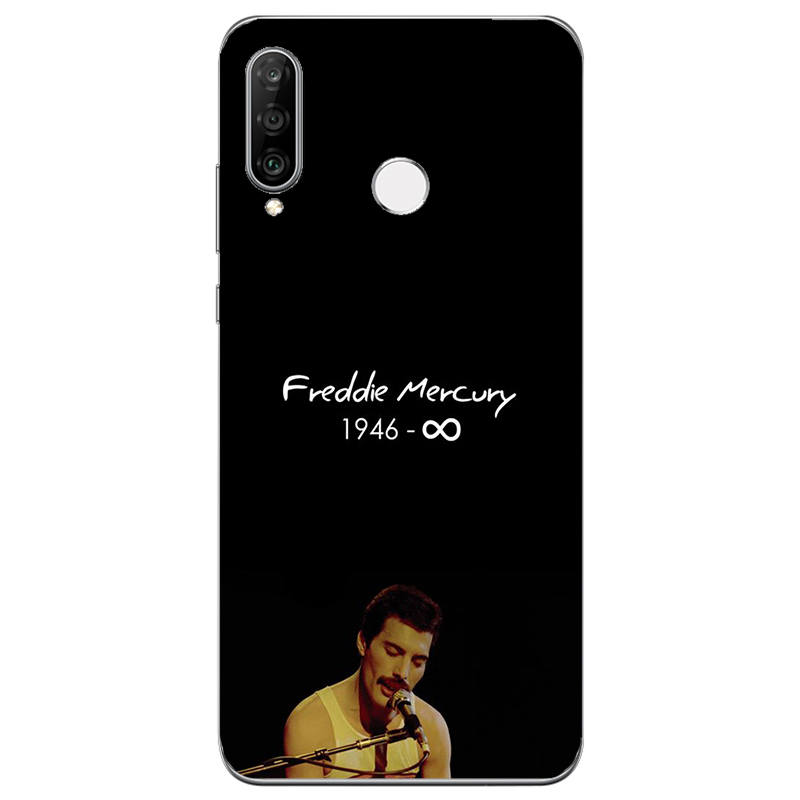Freddie Mercury silicone Case For Doogee X30 X50 X55 X60L X70 N10 Y7 Y8C BL5000 BL7000 BL12000 Pro Mix Lite Shoot 2 Phone Cover image
