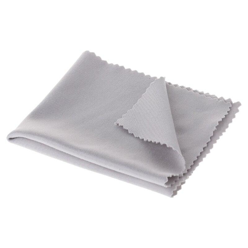 1 шт. Ткань для очистки линз из микрофибры очиститель салфетки для очистки очков объектив одежда серый очки ткань аксессуары для глаз, солнц...