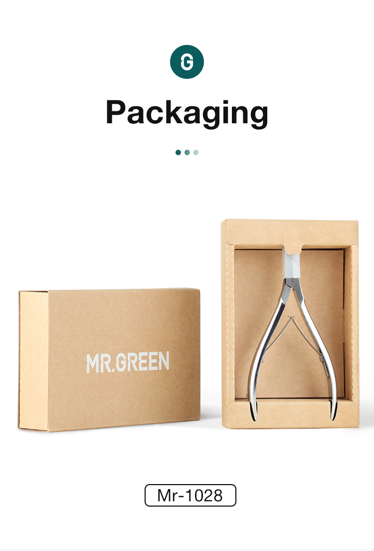MR.GREEN Cuticle Nippers Nail Manicure Cuticle Scissors Clippers Trimmer Dead Skin Remover