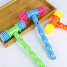 23cm 1pc Whisted belt vocalization plastic small hammer bb hammer sound toys