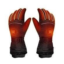 Перчатки с электрическим подогревом теплые перчатки для сенсорного