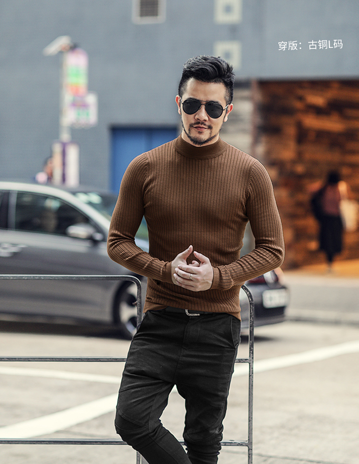 Male Knitted MIXLIMITED Sweater 16