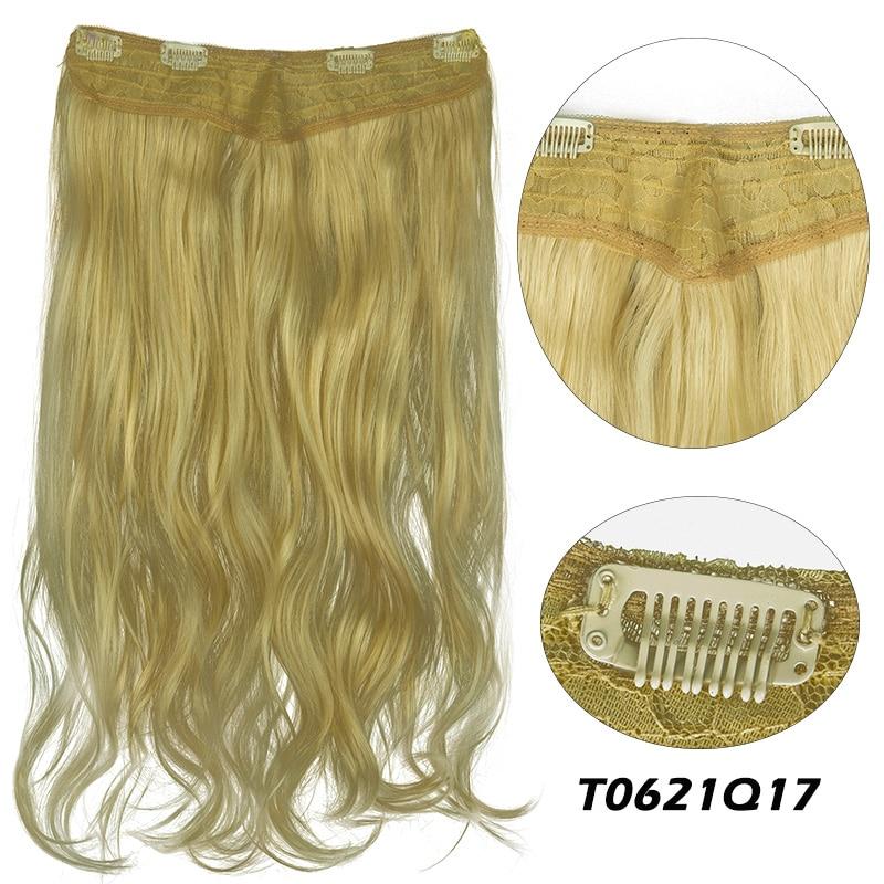 Lelinta v-shaped extensões de cabelo uma parte