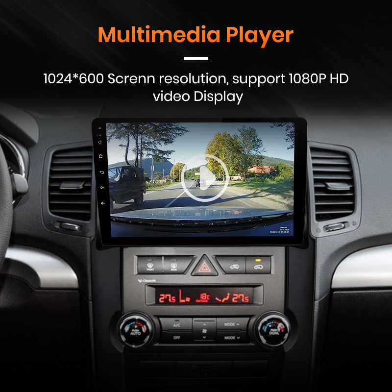 AWESAFE لكيا سورينتو 2009 2010 2011 2012 راديو السيارة الوسائط المتعددة مشغل فيديو لتحديد المواقع لا 2din 2 الدين أندرويد 9.0 2GB + 32GB