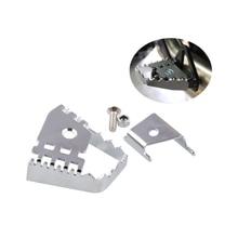 for BMW R1200GS F800GS F700GS F650GS R1150GS Rear Foot Brake Lever Pedal Enlarge Extension Peg Pad Extender