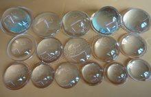 Plano очки оптические стеклянные линзы convex светодиодный фонарь