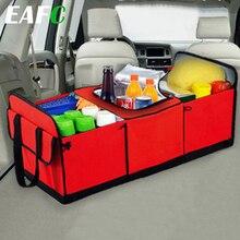 Boîte universelle de rangement pour voiture, coffre de rangement pliable pour jouets, conteneur à cargaison, sac noir pour voiture