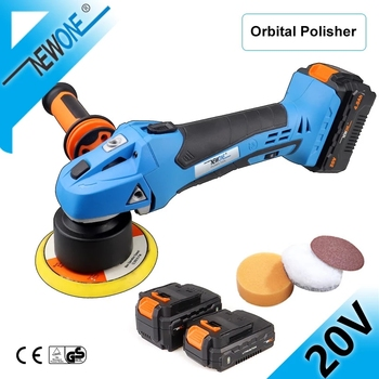 41% Off – 20V Dual Action Orbital Polisher DA Car Polishing Tool 20VDualAction