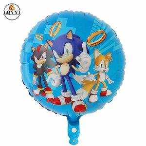 50 шт., детские игровые шарики-ежики из фольги для любителей звуковых игр, с днем рождения, вечерние детские игрушки