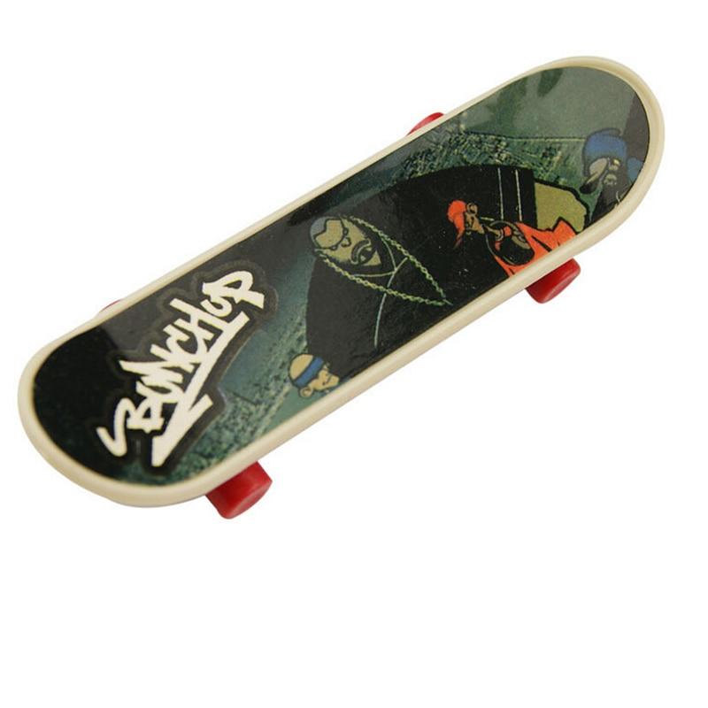 Boy Toys Fingerbord Mini Finger Skateboard Fingerboard Stents Scrub Finger Scooter Skate Boarding Classic Game Boys Toy