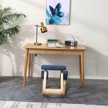 Original Ergonomic Kneeling Chair Stool Home Office Furniture Ergonomic Rocking Wooden Kneeling Computer Posture Chair