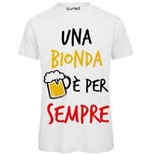 Camiseta divertente uomo maglietta addio al celibato uma bionda por sempre impressão dos desenhos animados de manga curta t camisa frete grátis