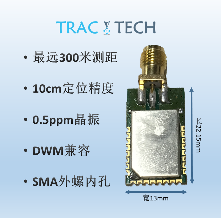 DWSMA Long-range Wireless Ultra-wideband RF Module DWM1000 Upgrade Version UWB Indoor Positioning Ranging