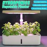 Bureaulamp Hydrocultuur Indoor Herb Garden Kit Smart Multifunctionele Groeiende Led Lamp Voor Bloem Groente Plant Groei Licht