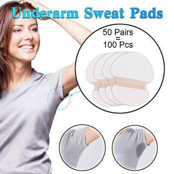100/200/300/400pcs Summer Disposable Underarm Sweat Pads For Armpit Clothing Anti Absorbent Sweat Pads Perspiration Sticker 1