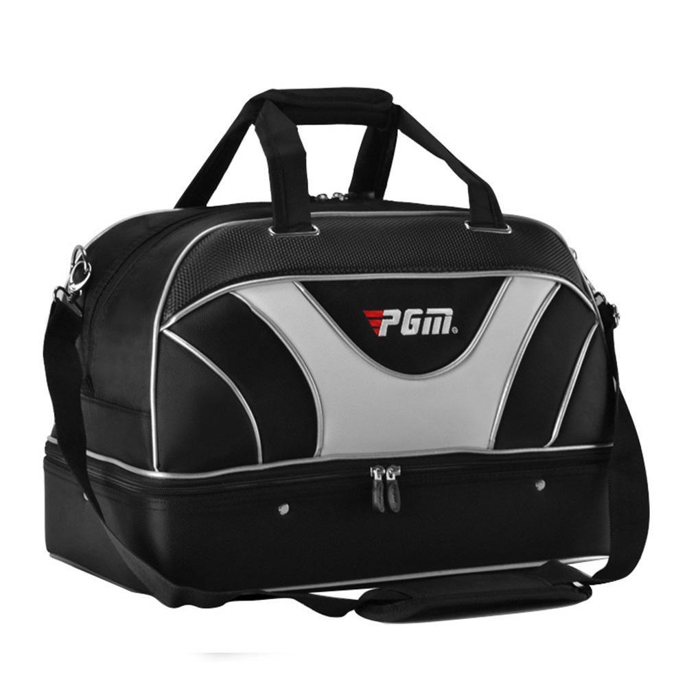 Golf Duffel Bag Large Waterproof Training Duffel Bag Double Layers For Men Golf Aviation Bag