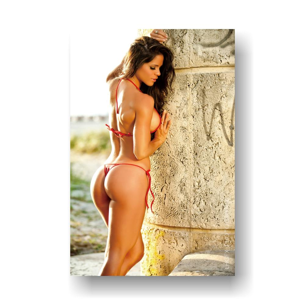 Sexy Hot Girls Ass Beer Womans Alcohol Wide Huge Wall Silk POSTER 40x60 Cm