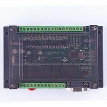 Plc contrôleur logique programmable avec boîtier 20MR FX2N 12 entrées, 0 ~ 10V, contrôleur automatique à relais à 2 ad, 8 entrées