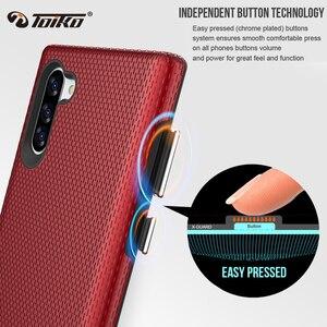 Image 4 - TOIKO X koruma çift katmanlı darbeye dayanıklı kılıf Samsung Galaxy not için 10 telefon kapak not 10 artı yumuşak TPU sert PC sağlam zırh kabuk