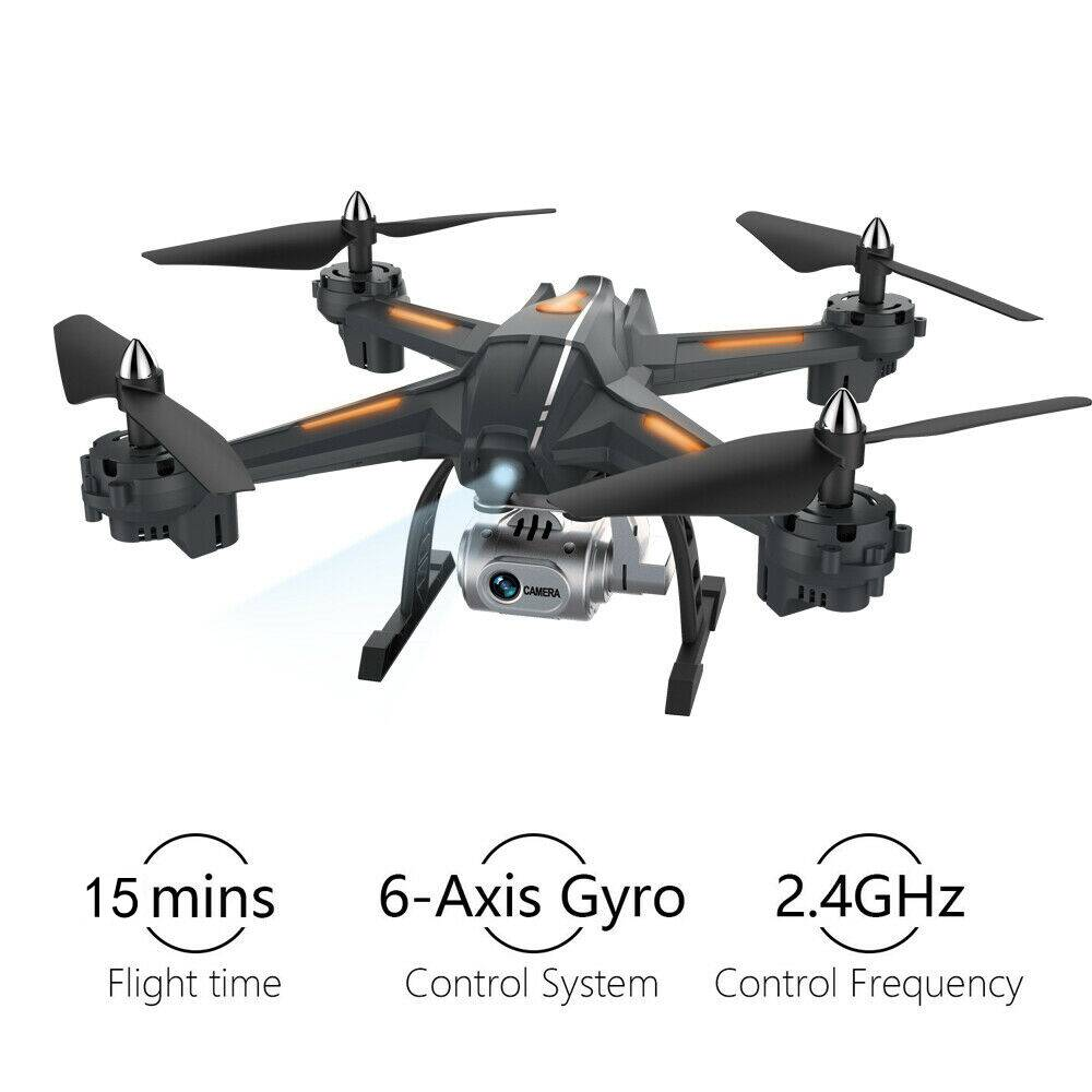 Foldable Drone With Camera HD WiFi FPV RC Quadcopter Headless Mode RC Helicopter Drone Altitude Hold 5MP Camera Selfie Dron