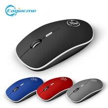 Игровая мышь imice с 4 кнопками 24 ГГц Беспроводная игровая/Офисная