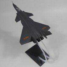 1:72 ABS Статический Моделирование Модель самолета-истребителя Китай J-20 авиакомпаний Fighter
