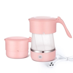 600W Global Universal Folding Silicone Water Boiler Electric Kettle Mini Portable Household Kettle Travel Bottle
