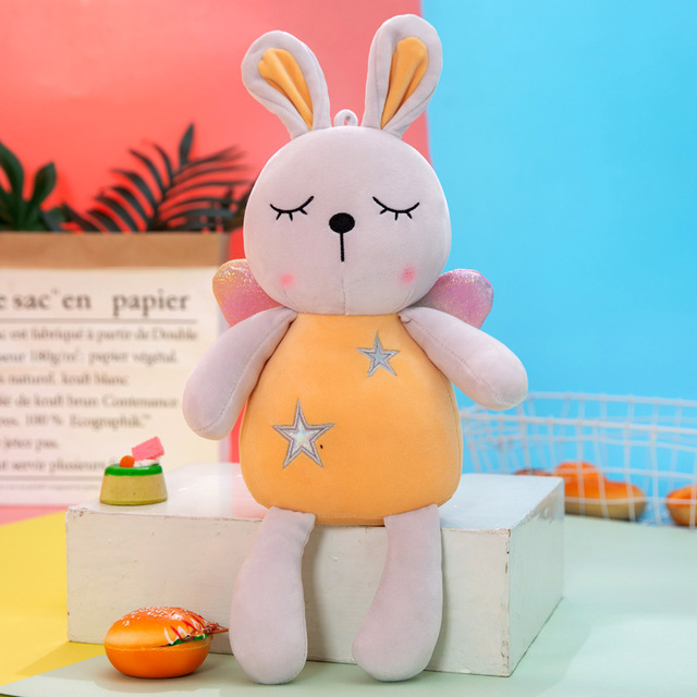 Soft Lovely Cartoon Bunny Rabbit Doll Stuffed Toys Plush Toys Gift For Children Movies Tv Aliexpress