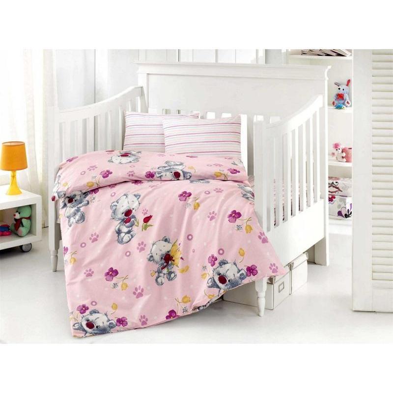 Фото - Bedding Set for baby ALTINBASAK, PUFFY, pink bedding set for baby altinbasak dream garden