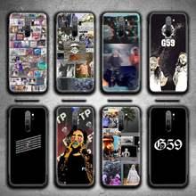 Caixa Do Telefone para Redmi 9A 9 G59 Suicideboys FTP 8A 7 6 6A Nota 9 8 8T Pro Max K20 K30 Pro