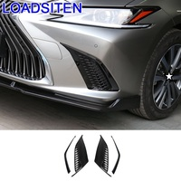 Car Decorative Modified Body Front Bumper Outlet Air Conditioner Dashboard Exterior Decoration Accessory 18 FOR Lexus ES series