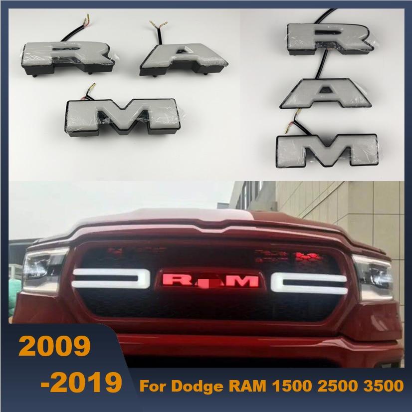 dodge ram light up emblem Auto Front Grill LED Licht Auto LED Buchstaben RAM Logo Buchstaben Für  Dodge RAM 2 2 2 2-2