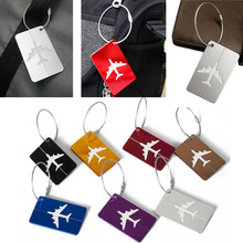 Luggage amp bags Accessories Cute Novelty Rubber Funky Travel Luggage Label Straps Suitcase Luggage Tags Drop Shipping cheap KAIGOTOQIGO Metallic 4 4cm 7 5cm Solid Travel Accessories