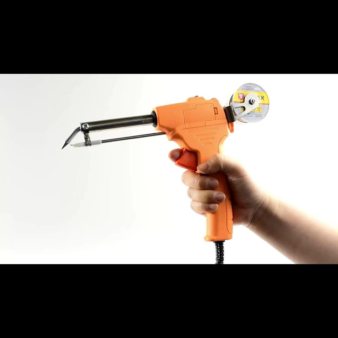 Tools : 60W 110v 220v Portable Automatic Send Tin Gun Welding Electric Soldering Iron Gun