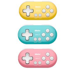 Image 5 - 8BitDo Bluetooth Wireless Gamepad For Nintendo Switch Lite PC macOS Stream Game Controller Color Zero 2 Gamepads Joystick Joypad