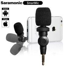 Microphone-Mic Saramonic Smartmic High-Sensitivity Condenser iPad for IOS X 5/6/7/..