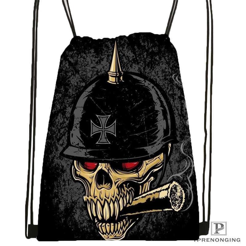 Bolso de mochila con cordón con diseño de tatuaje de Jesús que grita a medida x 31x40cm #180531-04-59