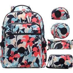 Женский школьный многофункциональный водонепроницаемый нейлоновый рюкзак ACEPERCH, Kipled, школьный рюкзак, сумка для путешествий, рюкзак, для