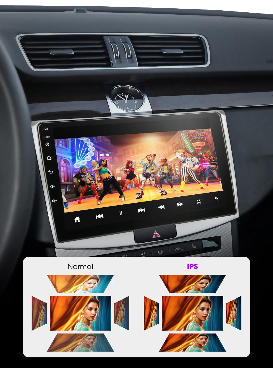Android 100 9/101 дюймов 2 din 2g + 32g 4g сеть автомобиля радио