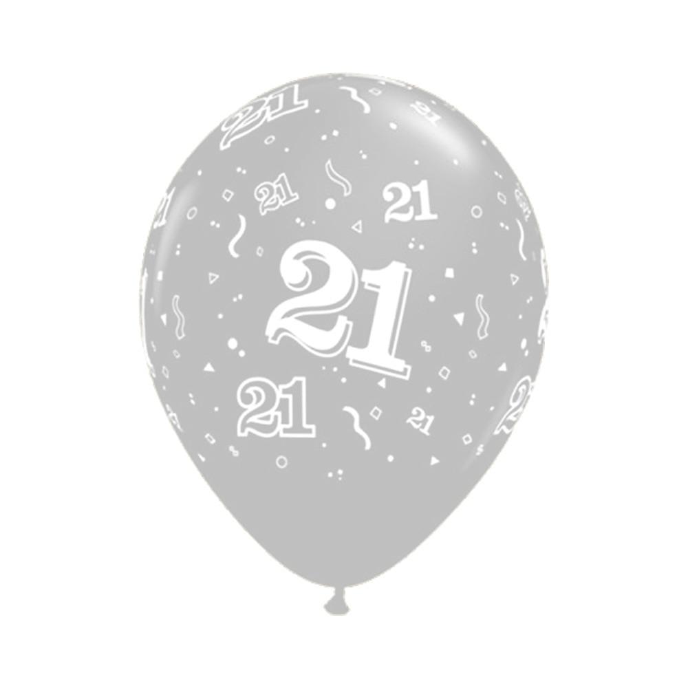 """12/"""" Globos Feliz Cumpleaños número de Látex Decoración /& redacción Impreso Edad 16-90th"""