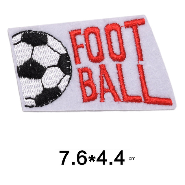 Football Embroidered Patches Racing Clothes Badges3