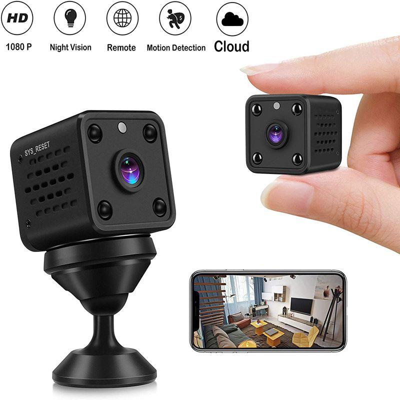 Микро 1080P HD камера 120 градусов широкий угол ночного видения Мини монитор спортивный детектор видео рекордер маленькая камера для Android IOS