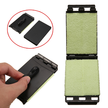 цена на 1pc Acoustic Electric Guitar Bass Strings Cleaner Brush Board Scrubber Fingerboard Rub Cleaning Tool Maintenance Care