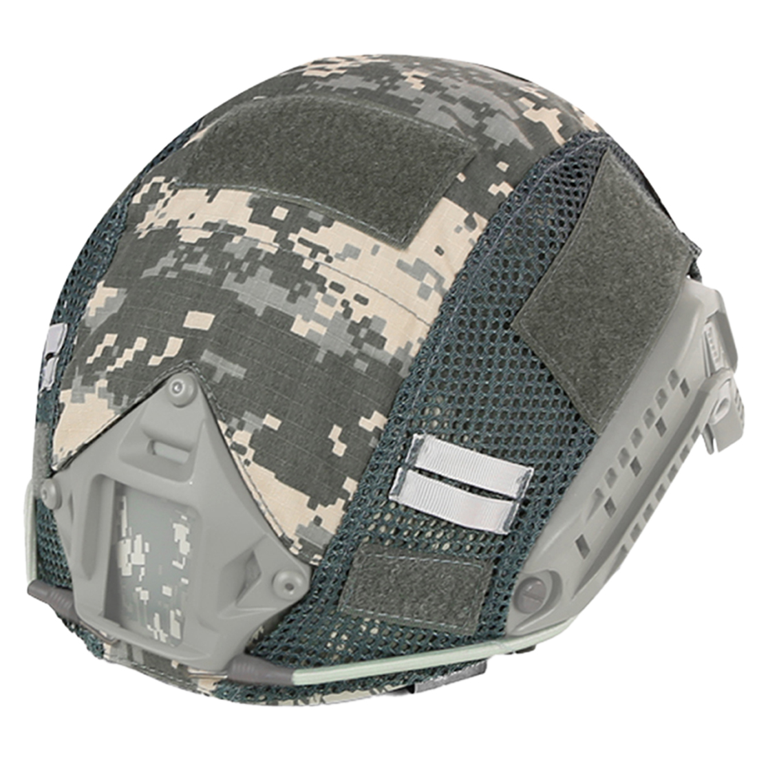 WST Updated Version Camouflage Helmet Cover For Paintball FAST Tactics Helmet Paintball Accessories